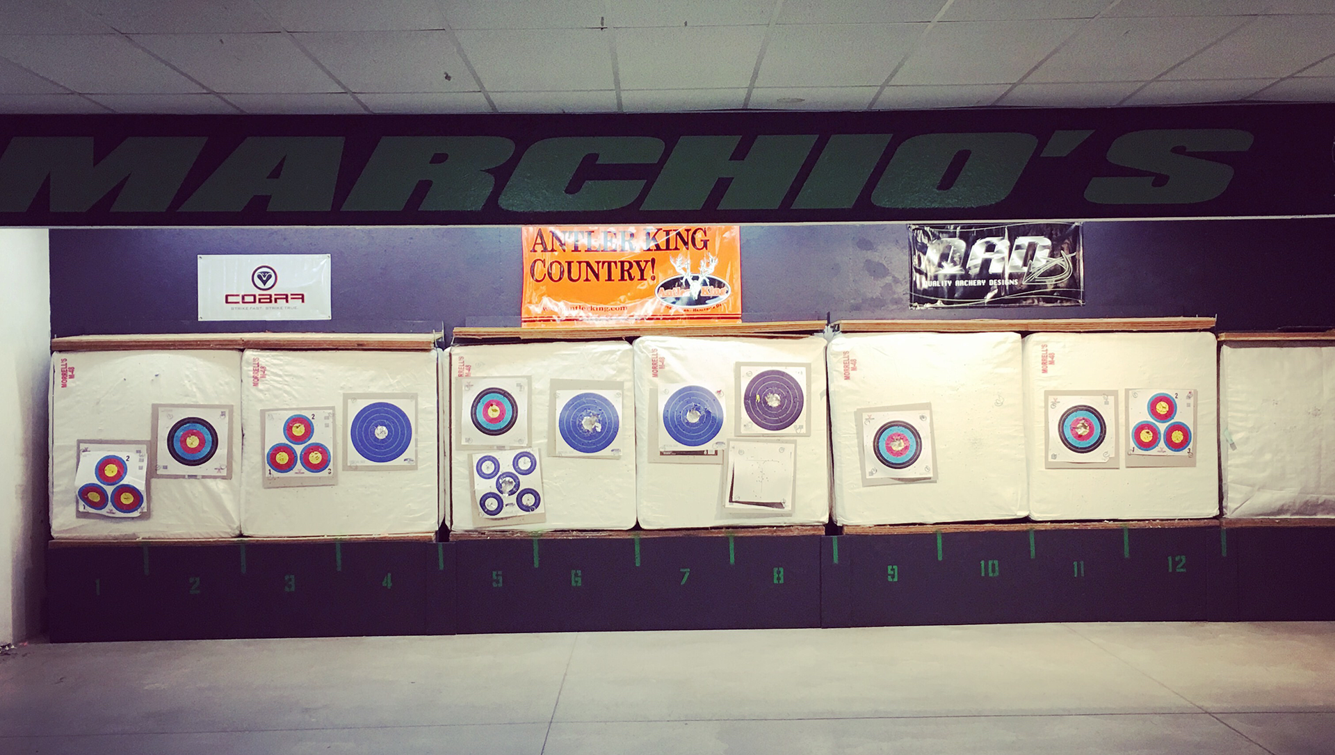 Indoor Archery Range - Marchio's Sport Hut - Hanover, PA