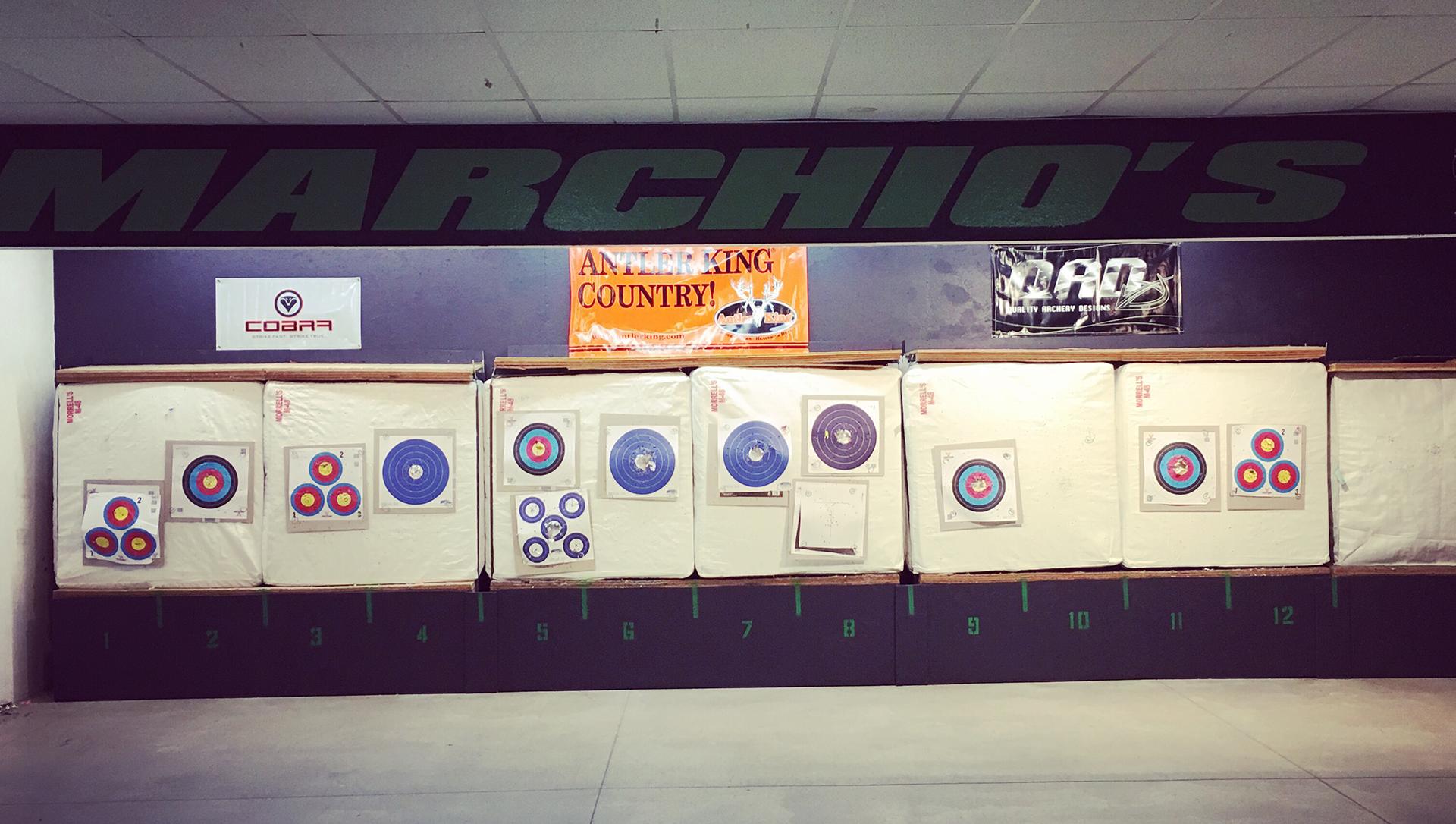 Indoor Archery Range - Marchio's Sport Hut - Hanover, PA